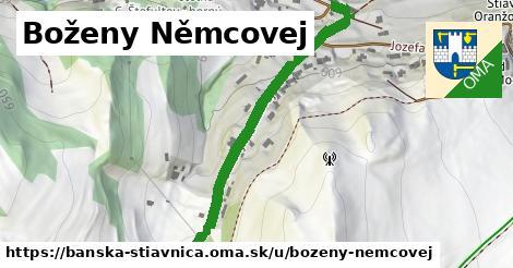 ilustračný obrázok k Boženy Němcovej, Banská Štiavnica