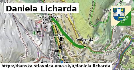 ilustračný obrázok k Daniela Licharda, Banská Štiavnica