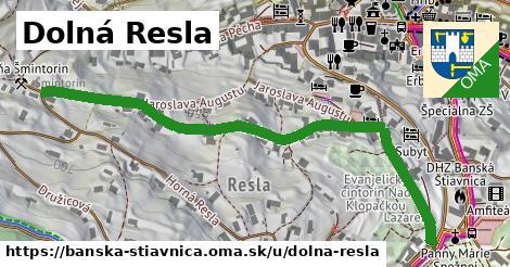 ilustračný obrázok k Dolná Resla, Banská Štiavnica