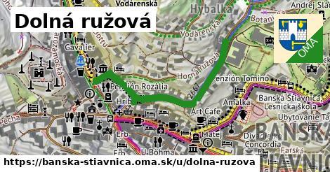 ilustrácia k Dolná ružová, Banská Štiavnica - 418m