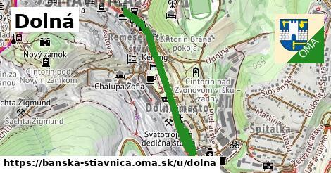 ilustračný obrázok k Dolná, Banská Štiavnica