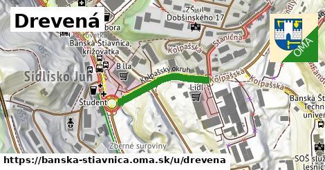 ilustrácia k Drevená, Banská Štiavnica - 225m
