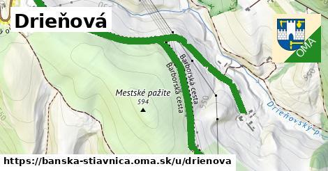 ilustračný obrázok k Drieňová, Banská Štiavnica