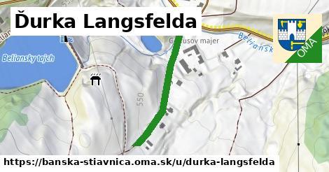 ilustračný obrázok k Ďurka Langsfelda, Banská Štiavnica
