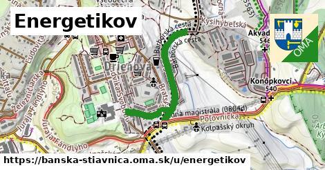 ilustračný obrázok k Energetikov, Banská Štiavnica