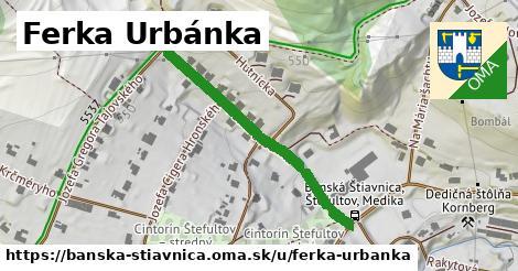 ilustračný obrázok k Ferka Urbánka, Banská Štiavnica