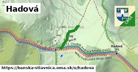ilustrácia k Hadová, Banská Štiavnica - 176m