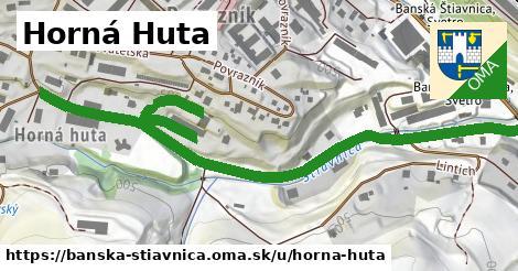 ilustračný obrázok k Horná Huta, Banská Štiavnica