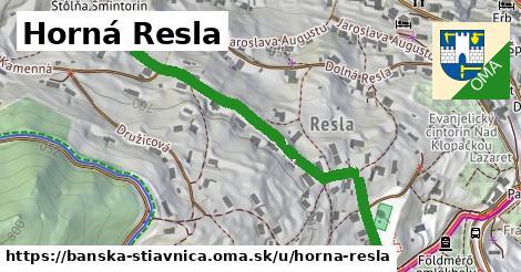 ilustračný obrázok k Horná Resla, Banská Štiavnica