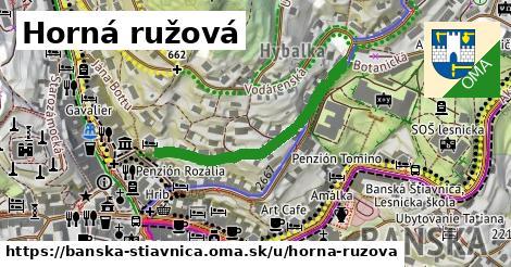 ilustrácia k Horná ružová, Banská Štiavnica - 340m