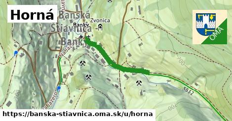 ilustrácia k Horná, Banská Štiavnica - 245m
