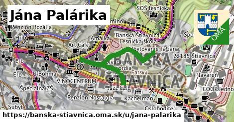 ilustrácia k Jána Palárika, Banská Štiavnica - 393m
