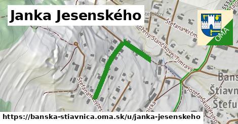 ilustrácia k Janka Jesenského, Banská Štiavnica - 357m