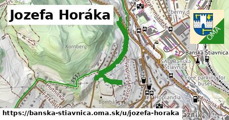 ilustračný obrázok k Jozefa Horáka, Banská Štiavnica