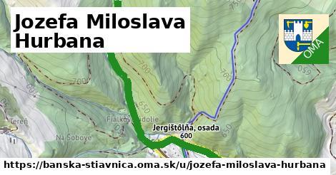ilustrácia k Jozefa Miloslava Hurbana, Banská Štiavnica - 2,0km