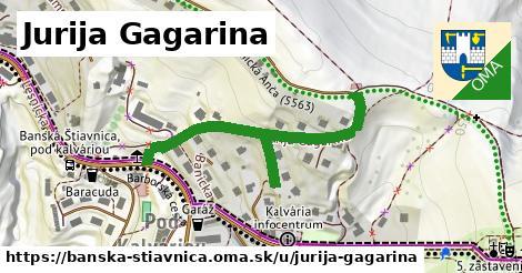 ilustračný obrázok k Jurija Gagarina, Banská Štiavnica