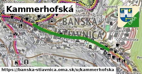 ilustračný obrázok k Kammerhofská, Banská Štiavnica