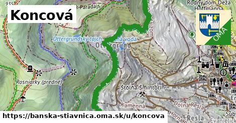 ilustračný obrázok k Koncová, Banská Štiavnica