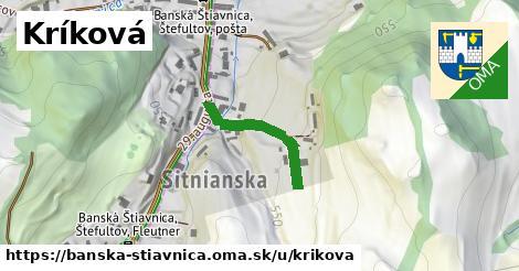 ilustrácia k Kríková, Banská Štiavnica - 180m