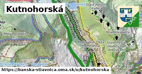 ilustračný obrázok k Kutnohorská, Banská Štiavnica