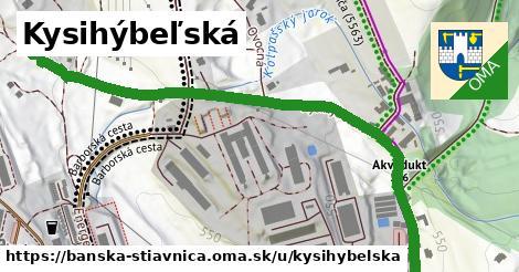 ilustračný obrázok k Kysihýbeľská, Banská Štiavnica