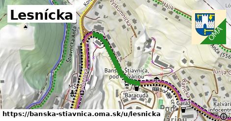 ilustrácia k Lesnícka, Banská Štiavnica - 237m