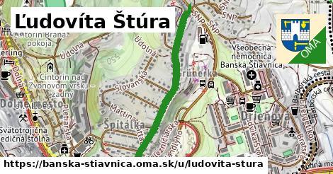 ilustračný obrázok k Ľudovíta Štúra, Banská Štiavnica