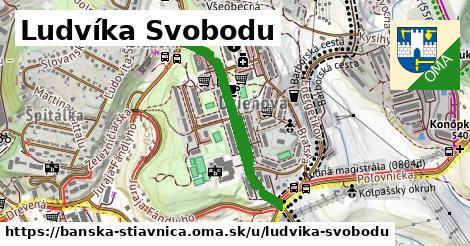 ilustračný obrázok k Ludvíka Svobodu, Banská Štiavnica