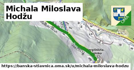 ilustrácia k Michala Miloslava Hodžu, Banská Štiavnica - 439m
