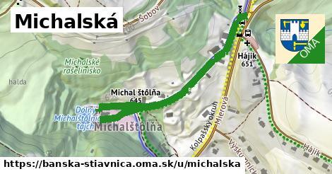 ilustračný obrázok k Michalská, Banská Štiavnica