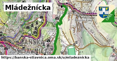 ilustračný obrázok k Mládežnícka, Banská Štiavnica