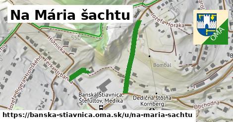 ilustračný obrázok k Na Mária šachtu, Banská Štiavnica