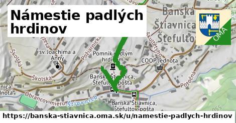 ilustračný obrázok k Námestie padlých hrdinov, Banská Štiavnica
