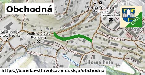 ilustračný obrázok k Obchodná, Banská Štiavnica