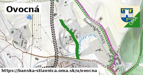 ilustrácia k Ovocná, Banská Štiavnica - 348m