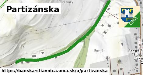 ilustračný obrázok k Partizánska, Banská Štiavnica