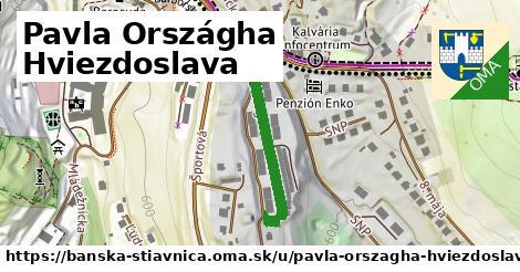 ilustračný obrázok k Pavla Országha Hviezdoslava, Banská Štiavnica