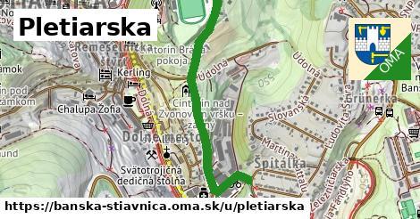ilustračný obrázok k Pletiarska, Banská Štiavnica