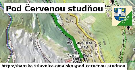 ilustračný obrázok k Pod Červenou studňou, Banská Štiavnica
