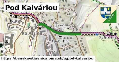 ilustračný obrázok k Pod Kalváriou, Banská Štiavnica