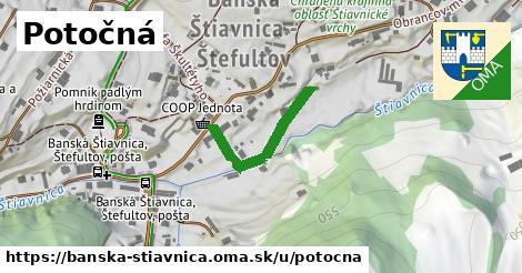 ilustračný obrázok k Potočná, Banská Štiavnica