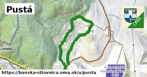 ilustračný obrázok k Pustá, Banská Štiavnica