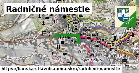 ilustrácia k Radničné námestie, Banská Štiavnica - 218m