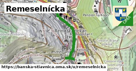 ilustrácia k Remeselnícka, Banská Štiavnica - 325m