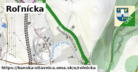 ilustrácia k Roľnícka, Banská Štiavnica - 499m