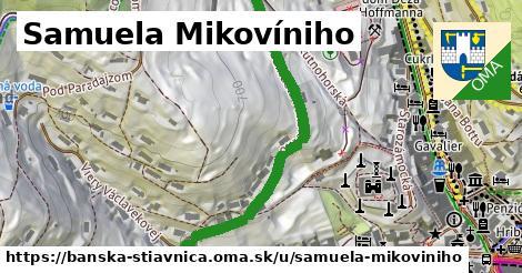 ilustračný obrázok k Samuela Mikovíniho, Banská Štiavnica