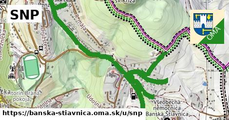 ilustračný obrázok k SNP, Banská Štiavnica