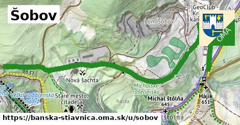 ilustračný obrázok k Šobov, Banská Štiavnica