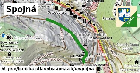 ilustračný obrázok k Spojná, Banská Štiavnica
