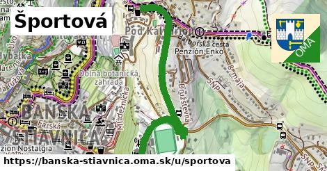ilustrácia k Športová, Banská Štiavnica - 1,05km